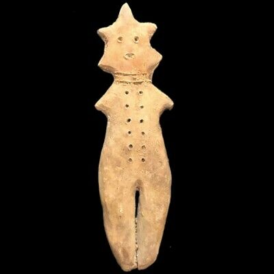 Ultra Rare Huge Stone Age Ancient Neolithic Anthropomorphic Idol 4500BC (4)