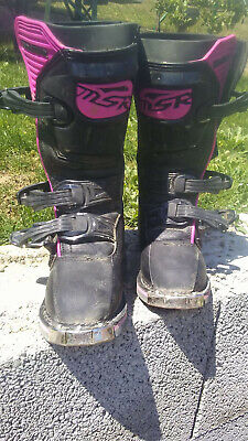 ACERBIS GRAFFITY JUNIOR Motocross Stiefel Kinder Gr. 34