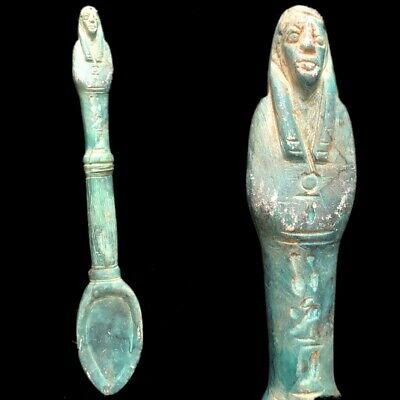 Egyptian Spoon Artefact, Late Period 664 - 332 Bc (1)