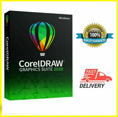 Corel Draw graphics suite 2020✔️Full Version ✔ Life Time✔️Instant Delivery 32/64