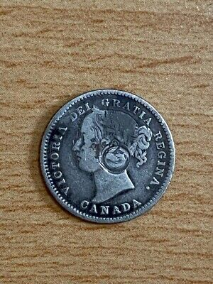 Canada  1874H  10 cents