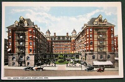 Hotel Portland, Portland Oregon antique postcard