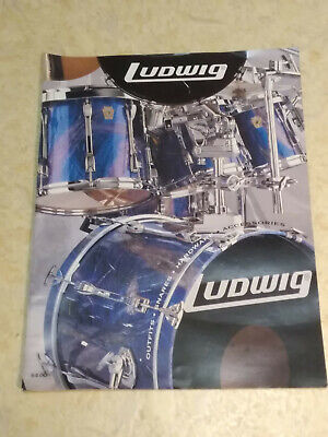 Ludwig Katalog Schlagzeug snare drum bass drum hardware sticks felle