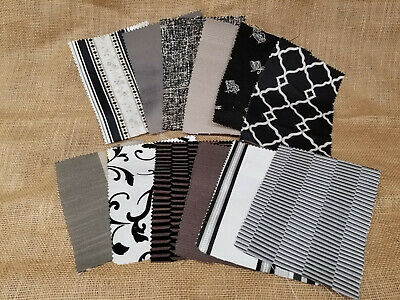 "UPHOLSTERY HOME DECOR DESIGNER FABRIC SAMPLE SWATCHES 8"" x 6"" PIECES LOT #1"