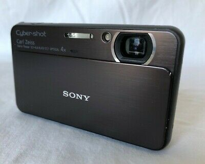 Sony Cyber-shot DSC-T99 14.1MP Digital Camera - Black