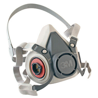 3M 6100 Half Facepiece Reusable Respirator, SMALL NEW IN PACKAGE FREE SHIPPING!