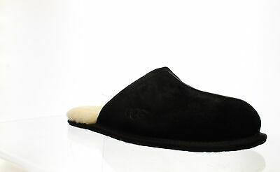 UGG Mens Scuff Black Mule Slippers Size 11