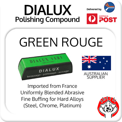 1.5 FRE Metal Rouge Polishing Compounds For Hard Metals Dialux 4 Grades Extreme Buffing