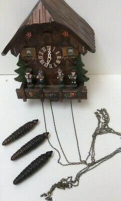 Edelweiss Swiss Movement Cuckoo Clock Spares Or Repairs (880DS)