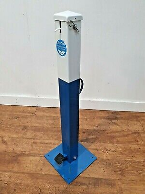 Tredpost UK Foot Operated Hygienic Hands Free Sanitising Station 1 Litre