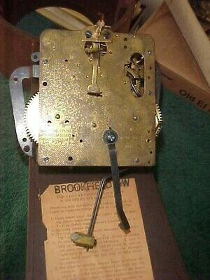Seth Thomas Banjo Clock Time And Strike Movement For The Brookfield Model.