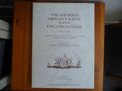 Book of Old Series Ordnance survey maps: South-central England