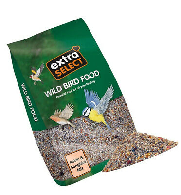 Extra Select Robin and Songbird Feed Mix, 12.75 kg