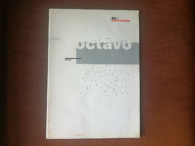 Octavo Magazine: Issue 1 (1986)
