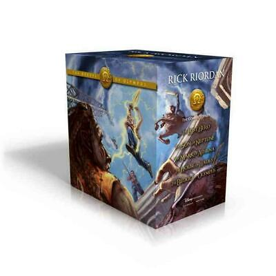 The Heroes of Olympus Hardcover Boxed Set by Rick Riordan (English) Hardcover Bo