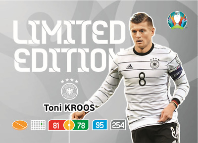 Panini Adrenalyn XL UEFA Euro 2020 Limited Toni Kroos Edition