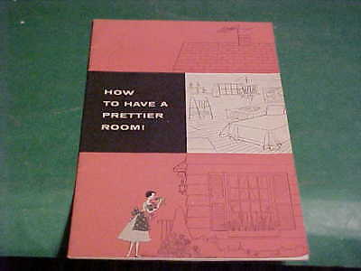 Vintage Artsy Decorating Hints Booklet By Johnson Wax