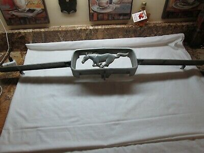 1967 Ford Mustang Center Grille Corral Running Horse Pony Emblem & Bars