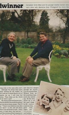 Ernie Wise - Relative Values - One Day only Magazine SSM1833