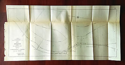 1904 Sketch Map of Mississippi River Osceola Bars