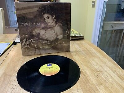 Madonna Like A Virgin Lp Record Album With Free Shipping