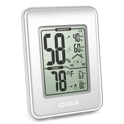 1x Mini Digital LCD Indoor Home Room Thermometer Hygrometer Temperature Humidity