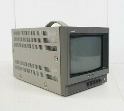 "Sony Trinitron 8"" PVM-8040 NTSC Color Video CRT Monitor"