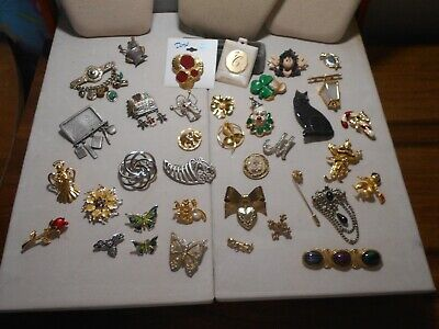 Lot Of 37 Vintage To Now Pins