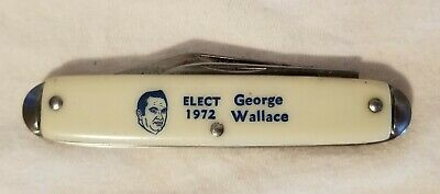 George Wallace 1972 Presidential Campaign Pocket Knives