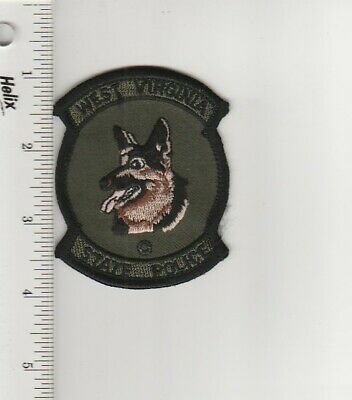 US Police Patch West Virginia State Police K-9 Tactical