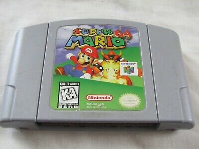 vintage N64 Nintendo 64 super Mario game cartridge UNTESTED