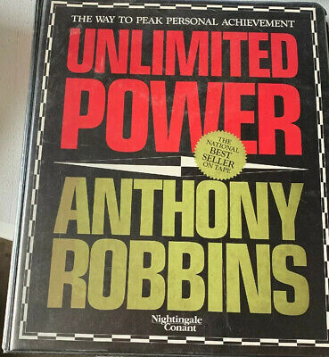 Unlimited Power, Anthony Robbins - Set of 6 Audio Cassette Tapes