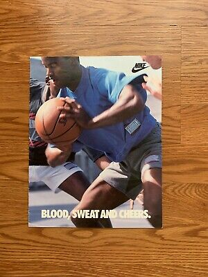 Nike Spring 1989 Nike Force Catalog With Advertising Schedule Original Vintage