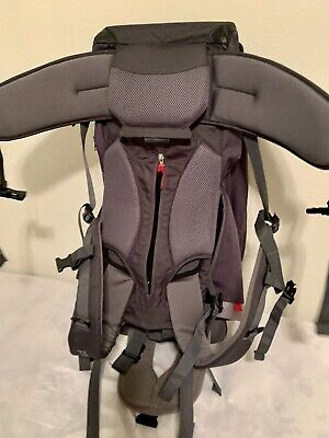Phil & Teds Escape Backpack Carrier - Charcoal - New! Free Shipping!