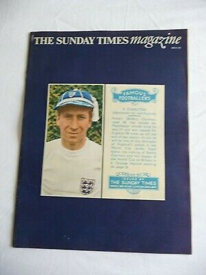 Sunday Times Magazine -29 May 1966-Preview of World Cup.