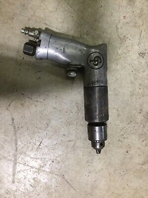 """Chicago Pneumatic Jacobs 3/8"""" Chuck Variable Speed Air Drill"""