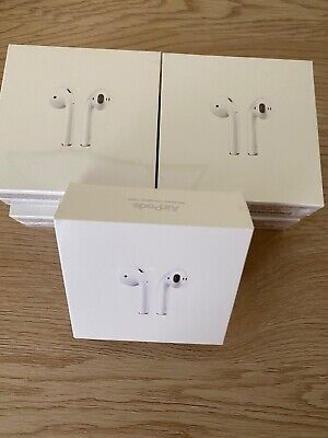BRAND NEW Apple AirPods 2nd Generation with Charging Case - White (STILL IN BOX)