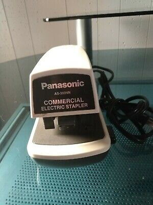 Panasonic Commercial Electric Stapler Model AS-300N Tested