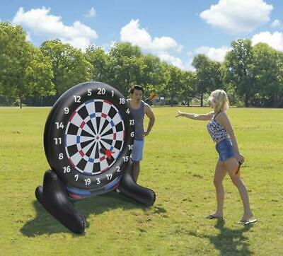 Giant Inflatable Dartboard Yard Party Game Durable Heavy-duty New