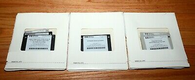 HP 8510 / 8530A Software Disks - Operating System / Specifications / Adjustments
