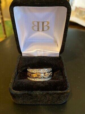 Trophy Rodeo Champion Belt Buckle Ring Jewelry Wedding Band Size 9