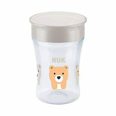 NUK Magic Cup 360° tasse d'apprentissage, rebord antifuite 360°, sans BPA, à