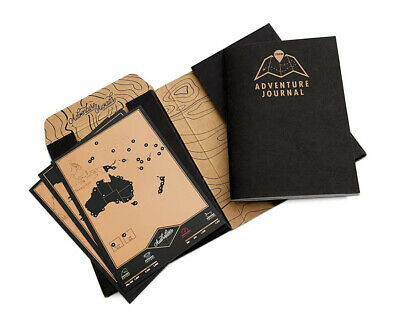 Luckies of London Adventure Journal, Black and Gold