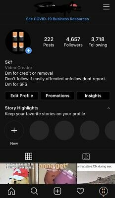 Active 4.6k  Instagram  Read Description Before Buying