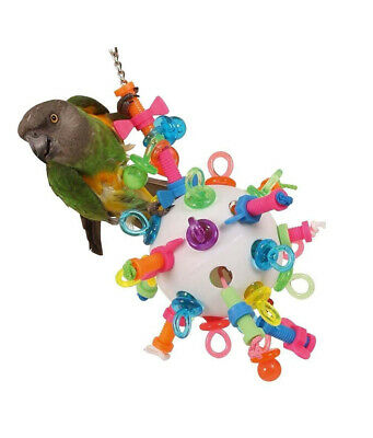 Nuts, Bolts and Binkies Puzzle Parrot Toy - Large