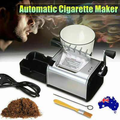 Automatic Rolling Cigarette Machine Electric Maker Inject Tube Tobacco 7-8mm AU