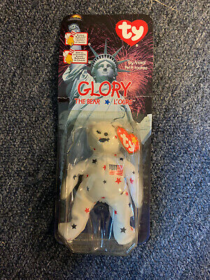 glory the bear beanie baby 1999
