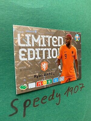 Panini Adrenalyn Euro 2020 Limited Edition Babel Nederland 20 Not Road UEFA