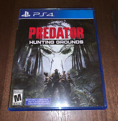 Predator Hunting Grounds (PS4/PlayStation 4) Brand New OPENED • Free Shipping!