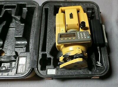 Topcon Gts-236N Surveying Total Station Fully Tested Calibration Due 26//03/2020